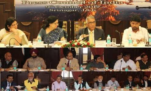 Council's Meeting at Srinagar